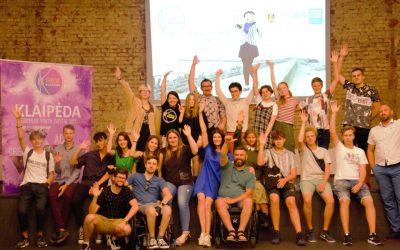 Klaipėdoje vyko jaunimo savanorių mokymai