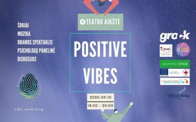 Teatro aikštėje – pozityvios bangos