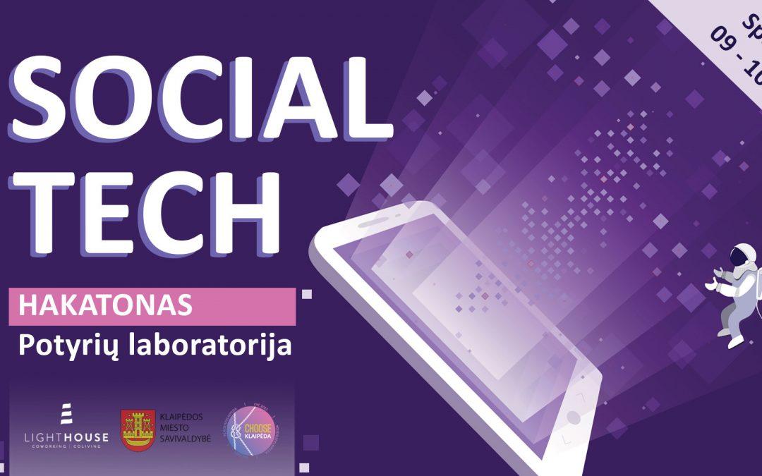 """SOCIAL TECH HAKATONAS """"POTYRIŲ LABORATORIJA"""""""