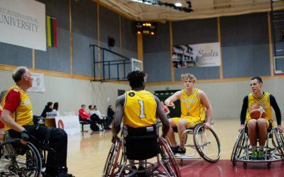 Klaipėdoje – krepšinio kova neįgaliųjų vežimėliuose