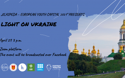 CULTURAL EVENT: GETTING TO KNOW UKRAINE // LIGHT ON UKRAINE