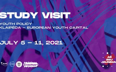 "Study visit ""Youth policy in Klaipėda – European Youth capital 2021"""